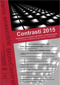 Contrasti 2015 - MotoContrario - Locandina